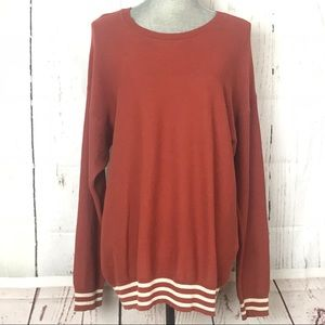 MADEWELL Pullover sweater Lightweight Sz Medium 🍁